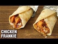 Chicken Frankie Roll