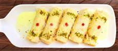 Malai Khoya Roll  Bread Roll Malai