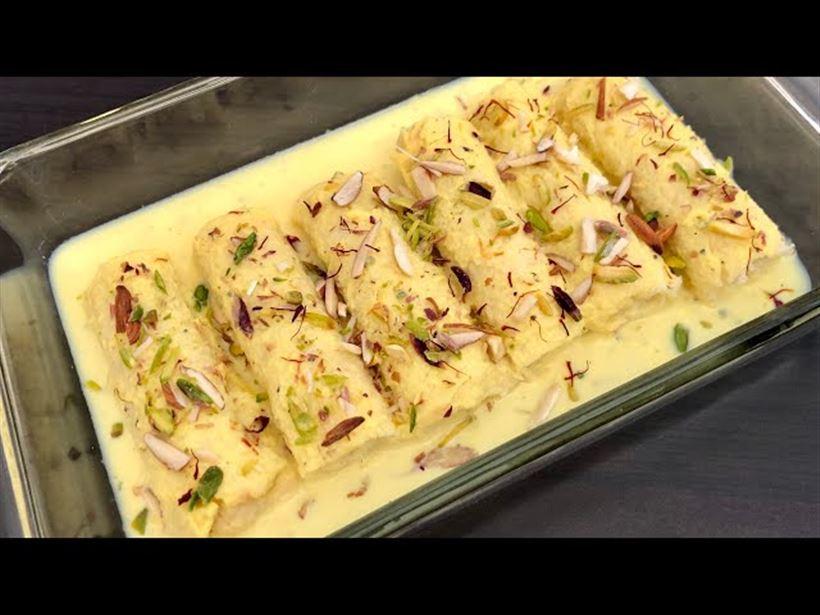 Malai Khoya Roll