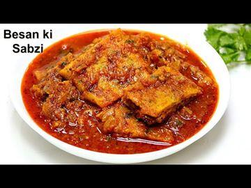 Besan Chilla Curry