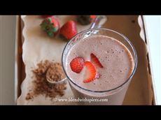 Chocolate Strawberry Banana Shake
